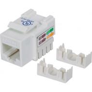 MUFA RJ-45 INTELLINET pt. cablu UTP, Cat5e, RJ-45 (M) tip Keystone Jack, plastic, 1 buc,