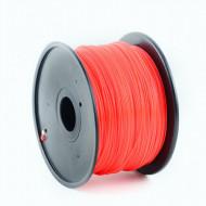 FILAMENT GEMBIRD pt. imprimanta 3d, ABS, 1.75mm diamentru, 1Kg / bobina, aprox. 400m, topire 225-240 grC, red,