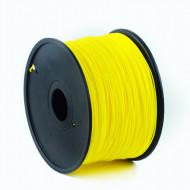 FILAMENT GEMBIRD pt. imprimanta 3d, ABS, 1.75mm diamentru, 1Kg / bobina, aprox. 400m, topire 225-240 grC, yellow,