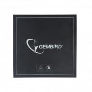 SUPRAFATA DE IMPRIMARE GEMBIRD pt. imprimanta 3d, dimensiune 155x155mm, termorezistenta, buna aderenta, usor de curatat,