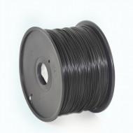 FILAMENT GEMBIRD pt. imprimanta 3d, PLA, 1.75mm diamentru, 1Kg / bobina, aprox. 330m, topire 190-220 grC, black,
