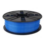 FILAMENT GEMBIRD pt. imprimanta 3d, PLA, 1.75mm diamentru, 1Kg / bobina, aprox. 330m, topire 190-220 grC, fluorescent blue,