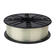 FILAMENT GEMBIRD pt. imprimanta 3d, PLA, 1.75mm diamentru, 1Kg / bobina, aprox. 330m, topire 190-220 grC, transparent,