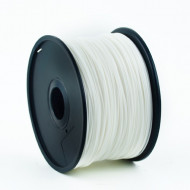 FILAMENT GEMBIRD pt. imprimanta 3d, PLA, 1.75mm diamentru, 1Kg / bobina, aprox. 330m, topire 190-220 grC, white,