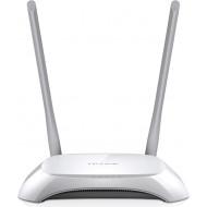 ROUTER TP-LINK wireless  300Mbps, 4 porturi 10/100Mbps, 2 antene externe, 2T2R