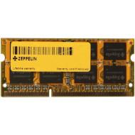 SODIMM  ZEPPELIN, 2 GB DDR3, 1333 MHz,