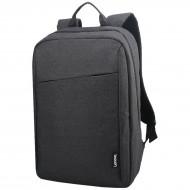 RUCSAC LENOVO, pt. notebook de max. 15.6 inch, 1 compartiment, fara buzunare, waterproof, poliester, negru,