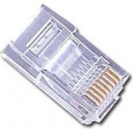 MUFA RJ-45 GEMBIRD pt. cablu UTP, Cat5e, RJ-45 (T), plastic, 10 buc,