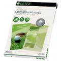 Folie Leitz UDT pentru laminare la cald,  A4,  80 mic., 100buc/set,