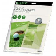Folie Leitz UDT pentru laminare la cald,  A4,  80 mic.,  25buc/set,