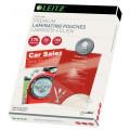 Folie Leitz UDT pentru laminare la cald,  A4, 175 mic., 100buc/set,
