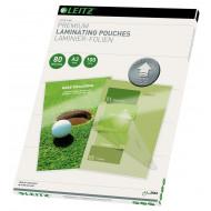 Folie Leitz UDT pentru laminare la cald, A3,  80 mic., 100buc/set,