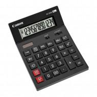 Calculator de birou CANON, AS-2400, ecran 14 digiti, alimentare solara si baterie, negru, include TV 0.1 lei ,