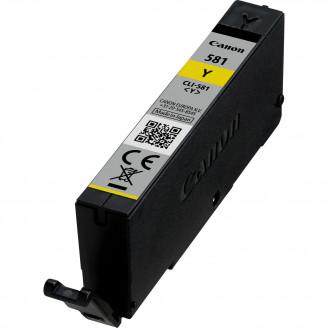 Cartus Cerneala Original Canon Yellow, CLI-581Y, pentru Pixma TR7550 TR8550 TS6150 TS6250 TS705 TS8150 TS8250 TS9150 TS9155 TS9550, , incl.TV 0.11 RON,