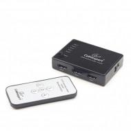 SWITCH video GEMBIRD, switch 5 device la 1 Monitor, conector 1: HDMI (M) x 5; conector 2: HDMI (M),