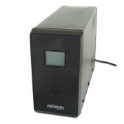 UPS GEMBIRD, Line Int. cu management, mini tower, 1500VA/900W, AVR, IEC x 3/ Schuko x 2, 2 x baterie 12V/8Ah, display LCD, back-up 1 - 10 min.,