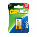 Baterie GP Batteries, Ultra+ Alcalina (6LF22) 9V alcalina, blister 1 buc.