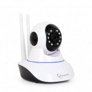 CAMERA IP. GEMBIRD, cube, pt. interior, dist. IR 5 m, tip lentila fixa 3.6 mm, 1 Mpx, cu fir, wi-fi, microfon, carcasa plastic, slot SD card,