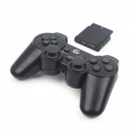 GAMEPAD wireless GEMBIRD, PC | PS2 | PS3, 2.4 GHz, negru,