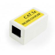 CUPLA RJ-45 GEMBIRD pt. cablu UTP, Cat5e, RJ-45 (M) x 2, plastic, 1 buc,