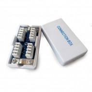 CUPLA Krone (LSA) GEMBIRD pt. cablu UTP, Cat5e, Krone (LSA) x 2, plastic, 1 buc,