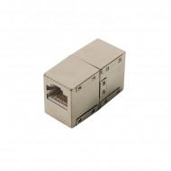 CUPLA RJ-45 LOGILINK pt. cablu FTP, Cat5e, RJ-45 (M) x 2, ecranat, metal, 1 buc,