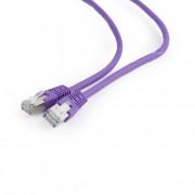 PATCH CORD FTP GEMBIRD Cat6,  cupru-aluminiu,  3 m, violet, AWG26, ecranat