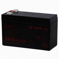 ACUMULATOR UPS SPACER 12V / 7Ah, dimensiuni: 151x66x96mm, inaltime+terminal: 102mm, terminal F2(T2),