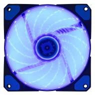 VENTILATOR SPACER PC 120x120x26 mm,  BLUE light, Fluid Bearing, 53CFM, conector 3-pin