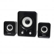 BOXE SPACER 2.1, RMS:  11W (2 x 3W + 5W), control volum, USB power, black,