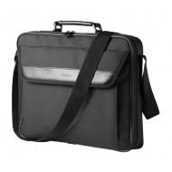 GEANTA TRUST, pt. notebook de max. 17.3 inch, 1 compartiment, buzunar frontal, poliester, negru,
