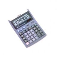Calculator de birou CANON,TX-1210E, 32 taste, ecran 12 digiti, alimentare solara si baterie, negru, include TV 0.1 lei ,