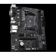 PLACA de BAZA Gigabyte   A520M S2H, skt AM4, AMD A520, mATX, slot RAM 2 x DDR4, max 64 GB, 4x S-ATA 3, 1x M.2, 1x PCI-E, PCI-E3.0 x 16 x 1, PCI-E3.0 x 1 x 2, LAN 10/100/1000 Mbps, HDMI, DVI -D, VGA, 7.1,