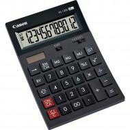 Calculator de birou CANON, AS-1200, ecran 12 digiti, alimentare solara si baterie, negru, include TV 0.1 lei ,