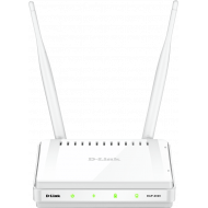ACCESS POINT D-LINK wireless 300Mbps, port 10/100Mbps, 2 antene externe,