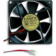 VENTILATOR GEMBIRD, pt sursa PC, 80 mm, 2000 rpm,