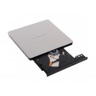 DVD-RW extern, LG, interfata USB 2.0, argintiu,