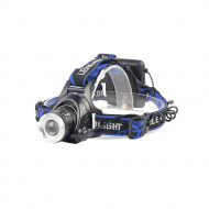 LANTERNA frontala cu LED SPACER headlamp (CREE XP-E), 150 lumeni,  aliaj aluminiu, lumina puternica, slaba, intermitenta, baterii: 3 x AA