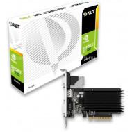 Placa video PALIT GeForce GT 730, 2GB DDR3 64bit, PCI Express 2.0 x 8, HDMI, DVI, VGA, sistem racir pasiv
