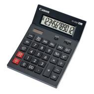 Calculator de birou CANON, AS-2200, ecran 12 digiti, alimentare solara si baterie, negru, include TV 0.1 lei ,