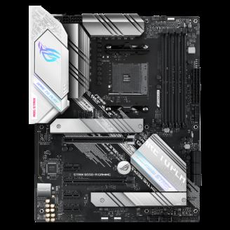 PLACA de BAZA Asus ROG STRIX B550-A GAMING, skt AM4, AMD B550, ATX, slot RAM 4 x DDR4, max 128 GB, 6x S-ATA 3, 2x M.2, 2x PCI-E, PCI-E4.0 x 16 x 2, PCI-E3.0 x 16 x 1, PCI-E3.0 x 1 x 3, LAN 10/100/1000/2500 Mbps, Display Port, HDMI, 7.1,