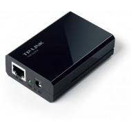 SPLITTER PoE TP-LINK 2 porturi Gigabit, compatibil IEEE 802.3af, alimentare 5V/12V, carcasa plastic