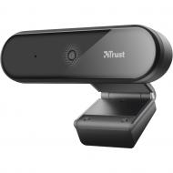 CAMERA WEB TRUST, Full HD cu rez 1920 x 1080, USB 2.0, microfon, negru,