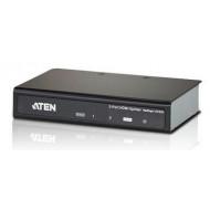 SPLITTER video ATEN, split 2 monitoare la 1 device, conector 1: HDMI (M); conector 2: HDMI (M) x 2,