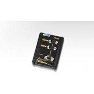 SWITCH video ATEN, switch 2 PC-uri la 1 Monitor, conector 1: VGA (T) x 2; conector 2: VGA (M),