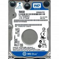 HDD notebook  WD 500 GB, Blue, 5400 rpm, buffer 16 MB, 6 Gb/s, S-ATA 3,